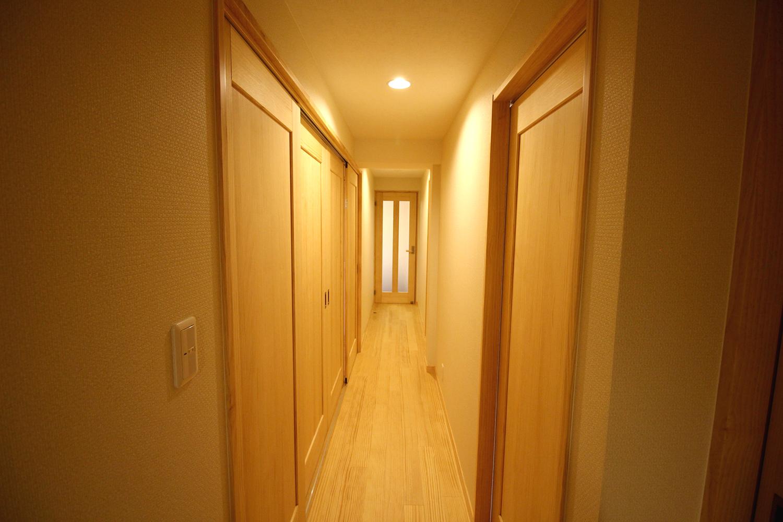 無垢の素材で 2階の全面改装を…